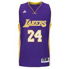 Kobe Bryant Los Angeles Lakers 24 Purple NBA Basketball Swingman Jersey Shirt