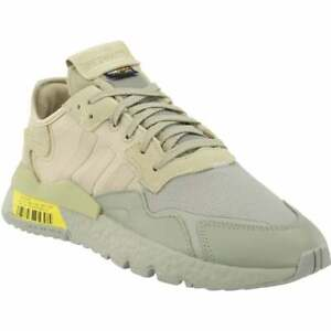 adidas Nite Jogger Lace Up  Mens  Sneakers Shoes Casual   - Grey