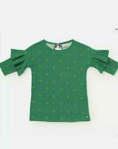 Matilda Jane Girls Tis' The Season Top Size 8