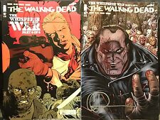 IMAGE THE WALKING DEAD #162 COVER A & B SET SIGNED BY CHARLIE ADLARD w/COA
