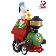 2009 Hallmark All Aboard For Holiday Fun Ornament Snoopy Peanuts Train