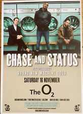 CHASE AND STATUS  - LONDON O2 ARENA TOUR FLYER X 1