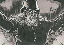 The Art of Robert Aragon Sketch Card #2 Elvin Hernandez