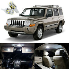 13 x Xenon White LED Interior Lights Package Deal For Jeep Commander 2006 - 2010