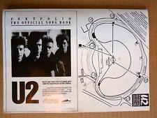 U2 Rare Early Tour Flyer 1985 Milton Keynes England Fan Club Promo
