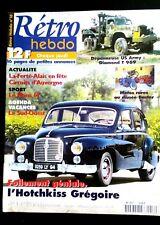 RETRO HEBDO n°16; Essai Hotchkiss Grégoire/ Dépanneuse US Army Diamond T 969