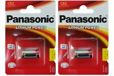 2 x Panasonic CR2 3V Lithium Photo Battery DLCR2 KCR2 CR17355 Camera