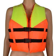 Universal Polyester Adult Kid Life Jacket Swimming Boating Ski Foam Vest Fishing