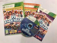 XBOX 360 GAME F1 RACE STARS +BOX & INSTRUCTIONS COMPLETE Inc' VALENCIA DLC PAL