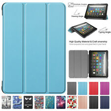 Case For Amazon Kindle Fire HD 8 Plus 2020(10th Gen) Smart Leather Folding Cover