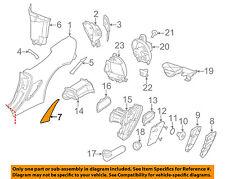 PORSCHE OEM 05-12 Boxster Quarter Panel-Stone Deflector Guard Right 98750482602