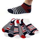 4 Pairs: Steve Madden Men's Ankle Socks