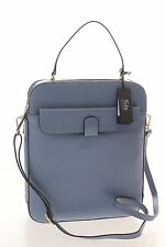 Tula Brand New Smooth Originals Blue Leather Large Acrossbody Bag RRP £149