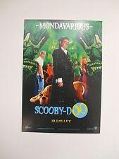 carte postale postcard scooby-doo mondavarious cinema