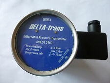 WIKA DELTA-trans Tronic Line Differenzdruck-Messumformer Edelstahl
