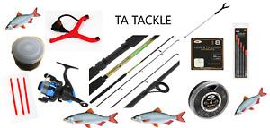 Telescopic Travel/starter kit ,6 ft Rod & Reel Complete Set for Coarse Fishing