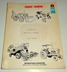 IH International 1440 1460 1480 Combine Service Training Manual JULY 1980 OEM