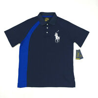 Polo Ralph Lauren Men's Performance Golf Polo Shirt Size M L Navy Blue
