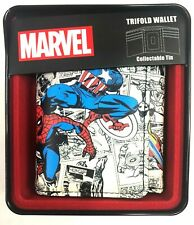 Marvel Avenders Trifold Wallet With Collectable Tin