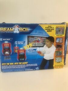 Transformers Rescue Bots Beam Box Game System Plus 3 Game Packs Characters