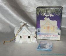 New 1995 Ret. Precious Moments Sugar Town Porcelain Dr. Sugar'S Office Ornament