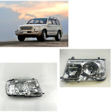 Headlights Head lamp for Toyota LAND CRUISER 100 Left & Right Halogen 1998-2005