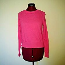 Banana Republic Size XS Sweater Touch Of Cashmere Back Pleat Pullover Pink