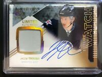 2013-14 SP Authentic Jacob Trouba Future Watch Limited Auto Patch /100