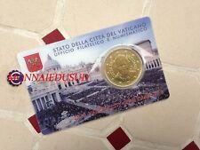 50 Cent Coincard Euro Vatican 2015 - Pape François