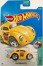 Hot Wheels 2017 Tooned #7/10 Volkswagen Beetle #DVB38 1:64 Scale Diecast