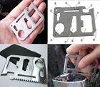 Creative Multi-Purpose Stainless Steel Survival Tool Emergency Card Pocket Knife