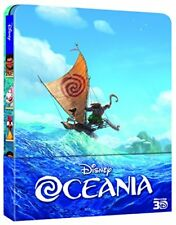 Preorder 26 Aprile Disney Oceania - BLURAY 3d 2d Steelbook Edition