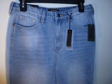 Buffalo David Bitton Ladies Girlfriend High Rise Relaxed Jeans W26 NWT MSRP $89