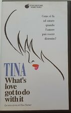 005 VHS Tina What's love got to do with it La vera storia di Tina Turner VI 4479