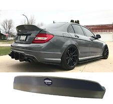 Rear spoiler ducktail Mercedes w204 C63AMG