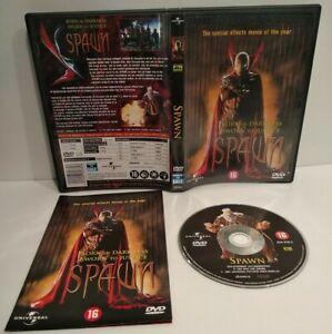 SPAWN - Le film DVD - PAL Zone 2 - Complet - Très bon état