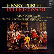 HENRY PURCELL Ode A Sainte Cecile FR Pres Harmonia Mundi HM 222 Alfred Deller LP