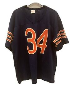 Vintage 80s PAYTON Jersey Shirt Rawlings #34 Chicago Bears NFL XL (Runs Smaller)
