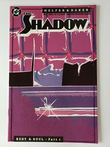 Shadow #14 15 16 17 18 19 (full Body and Soul arc) (1988 DC) all NM