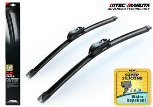 New MTEC Super Water Repellent Silicone Wipers 4 Saab 9-3 Convertible 2008~2011