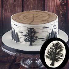 3D Tree Baking  Chocolate Sugarcraft Mould Silicone Fondant Mold Cake Decorating