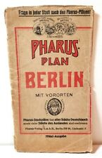 "1910 ""Pharus Plan Berlin"" Germany city guide"