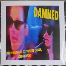 """The Damned - Live Rehearsal, London (1976) 4 track E.P 7"""" Clear Vinyl."""