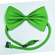 New Dog Pet Collar Clothes Accessory Bow Tie Necktie Apples Green