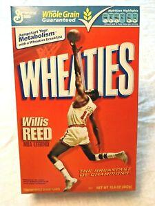 2009 Willis Reed WHEATIES NBA Legend New York Knicks 15.6.oz empty sealed box