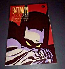BATMAN: Year One TPB Frank Miller 1988 DC Comics 1st Print