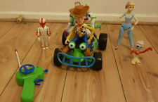 Toy Story RC Remote Control Car Working W/Woody & Buzz Bo-peep Forky Figures