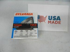 Sylvania 75 Watt Halogen 1130 lumens 2500h PAR30 short neck narrow flood 75PAR30