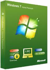 Windows 7 Home Premium  OEM Multilanguage Aktivierungs-Schlüssel 32 / 64 Bit