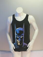 Vintage Batman Tank Top - Classic Face Graphic (1989) - Men's Small